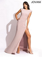 Jovani 78303 Sleeveless Jersey Gown image