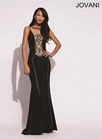 Jovani 78313 Unique Jersey Formal Dress image