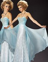 MacDuggal Couture Classic Ice Princess Ball Gown 78437MD image