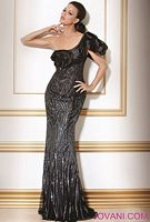 Jovani Black Evening Dress 7846 image