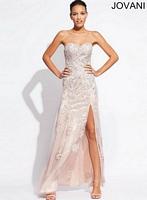 Jovani 78480 Lace Long Dress image