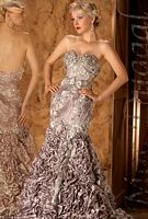 MacDuggal Couture Floral Delight Winning Pageant Dress 78574D image