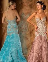 MacDuggal Couture Stonework Mermaid Pageant Gown 78577D image