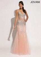Jovani 78605 Sexy Corset Evening Dress image