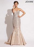 Jovani 78632 Taffeta Mermaid Dress image