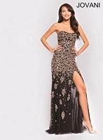 Jovani 79025 Sheer Cut Outs Formal Dress image