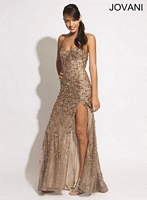 Jovani 79159 Lace Formal Dress image