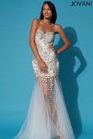 Jovani 79213 Beaded Silk Long Dress image