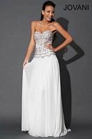 Jovani 79248 Beaded Chiffon Evening Dress image