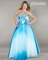 Jovani Ball Gown 797 with Beaded Bust image