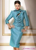 Jovani Ruffle Two Piece Mother of the Bride Suit 7987 image