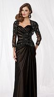 Caterina 8000 MOB Dress with Lace Bolero image