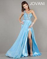 Jovani One Shoulder Evening Dress 805 image