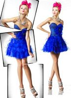 BabyDoll by MacDuggal Sexy Hot Short Prom Dress 81418B image
