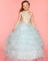 Sugar by Mac Duggal Girls Angelic Pageant Dress 81680S image