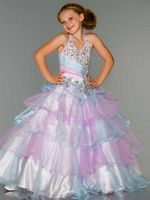 Sugar by Mac Duggal 81807S Girls Sweet Pageant Dress image