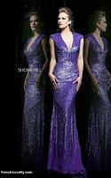 Sherri Hill 8529 Plunging V Neck Formal Dress image