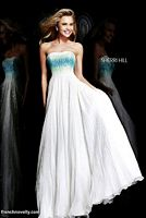Sherri Hill 8535 Ombre Beaded Long Dress image
