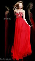 Sherri Hill 8545 Beaded Bodice Formal Dress image