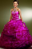 Vizcaya Ombre Organza Quinceanera Dress by Mori Lee 87081 image