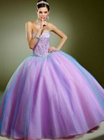Vizcaya Layered Tulle Quinceanera Dress by Mori Lee 87082 image