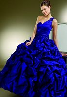 Vizcaya Quinceanera Dress with Rosettes by Mori Lee 87083 image