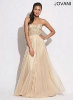 Jovani 88016 Ruffle Chiffon Formal Dress image