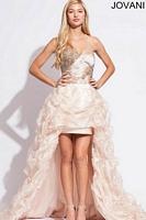 Jovani 88077 High Low Party Dress image