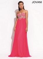 Jovani 88083 Flowing Empire Waist gown image