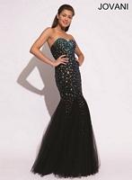Jovani 88088 AB Tulle Mermaid Dress image