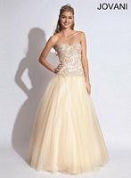 Jovani 88180 Elegant Beaded Ball Gown image