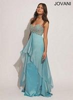 Jovani 88229 Chiffon Formal Dress image