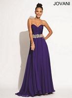 Jovani 88238 Elegant Ruched Formal Dress image