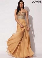 Jovani 88240 Empire Chiffon Evening Dress image