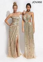 Jovani 88321 Colorful Beaded Evening Dress image
