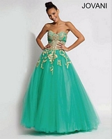 Jovani 88342 Tulle Ball Gown image