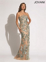 Jovani 88595 Stunning Beaded Formal Dress image