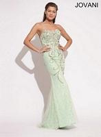Jovani 88643 Beaded Mermaid Formal Dress image
