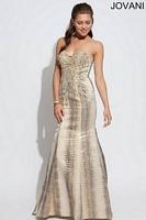 Jovani 88682 Crystal Mermaid Dress image