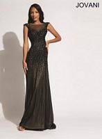 Jovani 89642 Sleeveless Open Back Formal Dress image