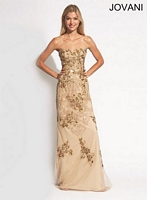 Jovani 89814 Fit and Flare Formal Dress image