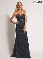 Jovani 89821 Fit and Flare Gown image