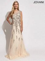 Jovani 89878 Sleeveless Formal Dress image