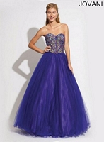 Jovani 90131 Tulle Ball Gown image