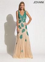 Jovani 90164 Lace and Tulle Mermaid Dress image