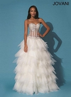 Jovani 90230 Sexy Ball Gown image