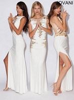Jovani 90250 Sleeveless Jersey Gown image