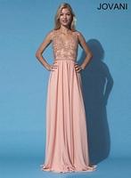 Jovani 90799 Jersey Formal Dress image