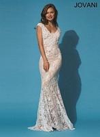 Jovani 90897 Lace Mermaid Dress image