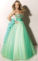 Paparazzi Layered Tulle Prom Gown 91002 by Mori Lee image